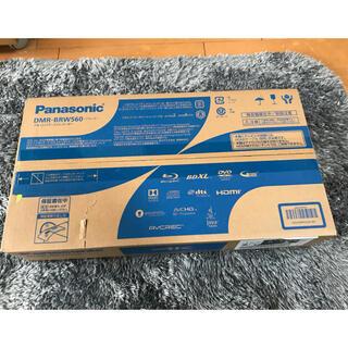 パナソニック(Panasonic)の新品 Panasonic ブルーレイ DMR-BRW560 黒(ブルーレイレコーダー)