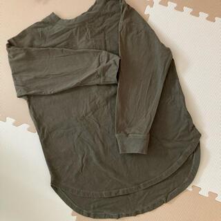 シマムラ(しまむら)のカーキ ロンT(Tシャツ(長袖/七分))