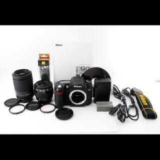 Nikon - ショット極少!!ニコン Nikon D90 Wレンズセット#718096