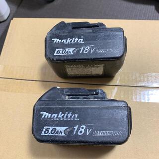 マキタ(Makita)のtaitai99さん専用 マキタ BL1860B 18v 6ah 2つセット(メンテナンス用品)