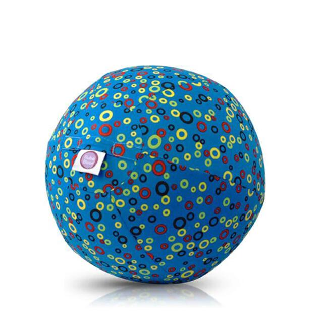 BorneLund(ボーネルンド)のBorneLund ブーバブルーン カラフルリング・ブルー おうち時間 子供 キッズ/ベビー/マタニティのおもちゃ(知育玩具)の商品写真