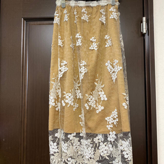 IENA - イエナ購入レースが綺麗なスカート