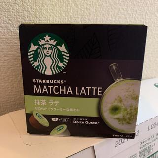 スターバックスコーヒー(Starbucks Coffee)のスタバ 抹茶ラテ ドルチェグスト 専用カプセル(コーヒー)