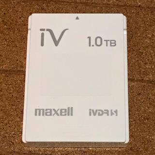 マクセル(maxell)のmaxell iVDR-S 1.0TB iV ハードディスク 1TB(その他)