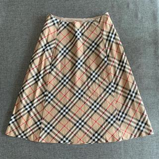 BURBERRY BLUE LABEL - バーバリーブルーレーベル 36 ノバチェック スカート