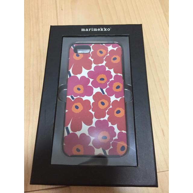 marimekko(マリメッコ)のマリメッコ iPhone5,SEケース スマホ/家電/カメラのスマホアクセサリー(iPhoneケース)の商品写真