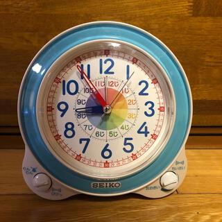 セイコー(SEIKO)のSEIKO 知育時計 目覚まし時計 子供(置時計)
