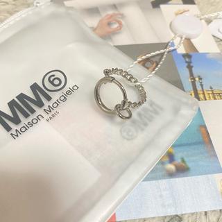 マルタンマルジェラ(Maison Martin Margiela)の【新品未使用タグ付き】MM6 Maison Margiela クラスプリング(リング(指輪))
