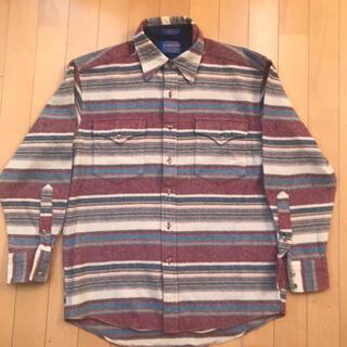 ペンドルトン(PENDLETON)のお値下げ 美品 PENDLETON ウール100%シャツ(シャツ)