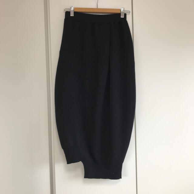 ENFOLD(エンフォルド)のナゴンスタンス nagonstans バルーンスカート ブラック 黒 レディースのスカート(ロングスカート)の商品写真