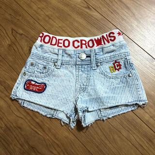 ロデオクラウンズ(RODEO CROWNS)のロデオ☺︎デニムショーパン(パンツ/スパッツ)