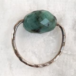 エメラルド リング デトロワ ビーズバランス 清水ヨウコ(リング(指輪))