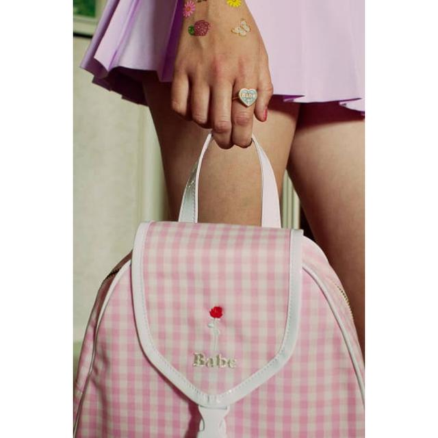 merry jenny(メリージェニー)のLUVRA magic  ミニバックパック ブルー レディースのバッグ(リュック/バックパック)の商品写真