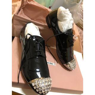 miumiu - 新品☆miumiu革靴