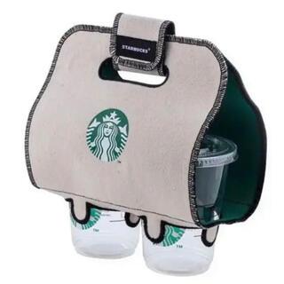 Starbucks Coffee - スターバックス スタバ トートバッグ エコバッグ ドリンクホルダー 台湾 海外