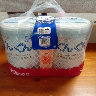 ワコウドウ(和光堂)の和光堂 粉ミルク ぐんぐん 2缶 未開封(その他)