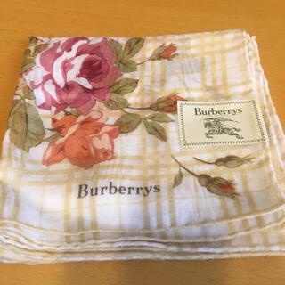 バーバリー(BURBERRY)のハンカチ スカーフ バーバリー Burberry 新品未使用 ステッカー付き(ハンカチ)