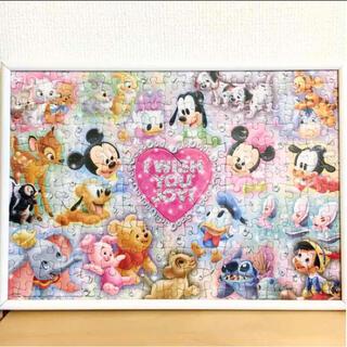 ディズニー(Disney)のDisney jigsaw puzzle フレーム付き!(その他)