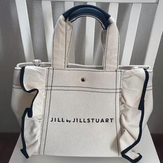 JILL by JILLSTUART - JILL by JILLSTUART フリルトートバッグ 大