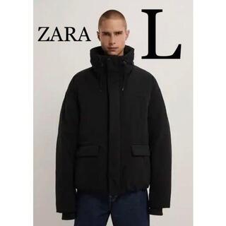 ZARA - ZARA ザラ 新品 ウォーターレペレント パフジャケット L
