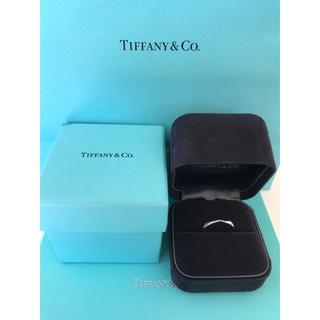 ティファニー(Tiffany & Co.)のTIFFANY ティファニー ハーモニー ウェディング バンドリング☆新品未使用(リング(指輪))