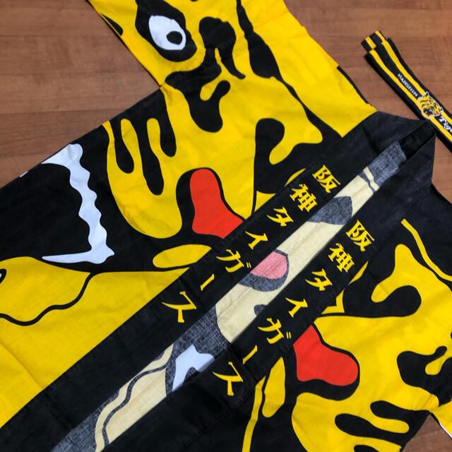 阪神タイガース(ハンシンタイガース)の2月末まで売り切り値下げ!阪神タイガース 法被はちまきセット 1990年もの スポーツ/アウトドアの野球(応援グッズ)の商品写真
