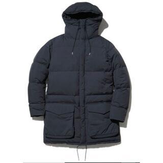 スノーピーク(Snow Peak)の新品 スノーピーク ダウンコート Sサイズ ブラック(ダウンジャケット)