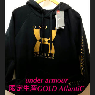 UNDER ARMOUR - 限定生産‼️L under armour NEW Atlantic GOLD