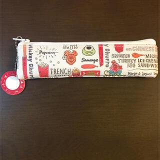 ジン様専用♡ディズニーレトロ紙袋柄 合皮製ミニペンケース(その他)