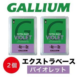 【2個】ガリウム エクストラベースバイオレット(100g) #B03-2(バインディング)