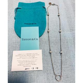 ティファニー(Tiffany & Co.)のティファニー  シルバー パール6p ネックレス(ネックレス)