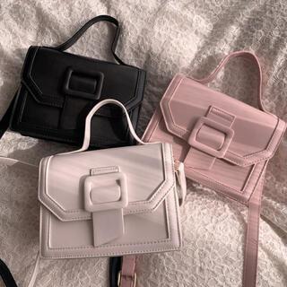 snidel - milky belt bag -white-
