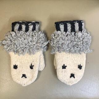 ニコアンド(niko and...)のもこもこミトン(手袋)