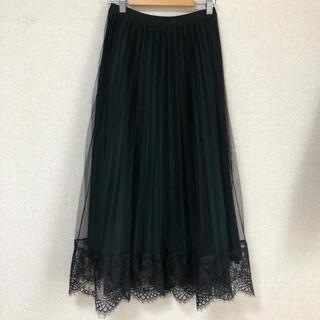 RETRO GIRL - リバーシブル♡プリーツレーススカート