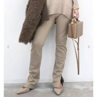 L'Appartement DEUXIEME CLASSE - wool zip leggings ♥︎beige