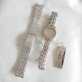セイコー(SEIKO)のセイコー ドルチェ 腕時計ケース バンド アルバ 純正ブレス 2本セット(金属ベルト)