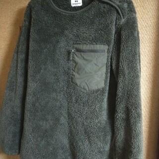 エンジニアードガーメンツ(Engineered Garments)のEngineer garments フリース ユニクロ M オリーブ(ブルゾン)
