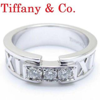 ティファニー(Tiffany & Co.)の【超美品】ティファニー アトラス クラシック 3P ダイヤ K18 リング(リング(指輪))