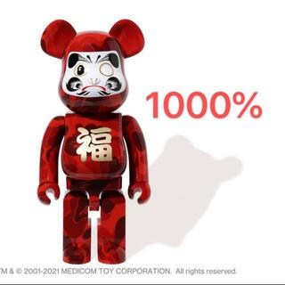アベイシングエイプ(A BATHING APE)のA BATHING APE & BE@RBRICK 達磨 1000%(その他)