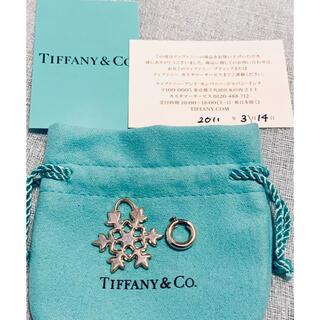 ティファニー(Tiffany & Co.)のティファニー シルバー スノーフレークチャーム(チャーム)