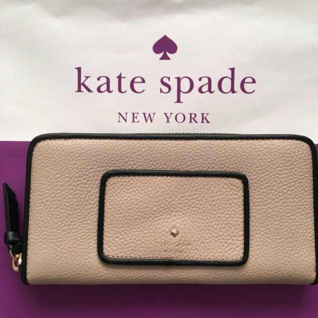 kate spade new york(ケイトスペードニューヨーク)の【未使用新品】ケイトスペード 長財布 ラウンドファスナー レディースのファッション小物(財布)の商品写真