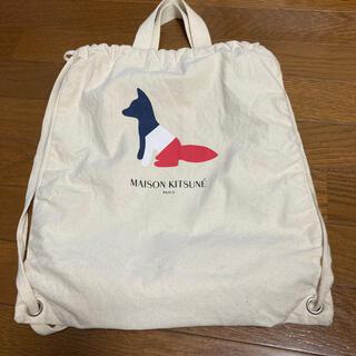 メゾンキツネ(MAISON KITSUNE')のmaison kitsune ナップザック (トートバッグ)