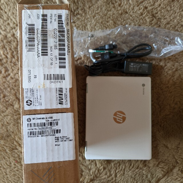 HP(ヒューレットパッカード)のRai様 HP Chromebook x360 12b-ca0002TU スマホ/家電/カメラのPC/タブレット(ノートPC)の商品写真