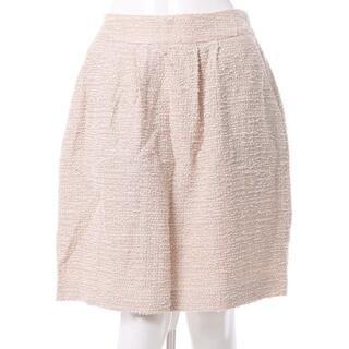 クチュールブローチ(Couture Brooch)のCouture brooch*キラキラツイードスカート*新品(ひざ丈スカート)
