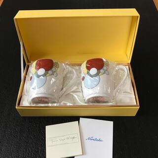ノリタケ(Noritake)のフランクロイドライト ペアマグカップ(グラス/カップ)