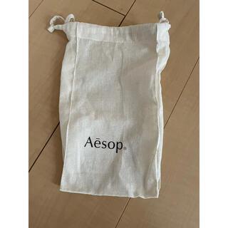 イソップ(Aesop)のAesop 巾着 マチあり(ショップ袋)