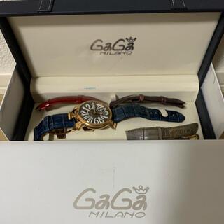 ガガミラノ(GaGa MILANO)の早い者勝ち 腕時計 ガガミラノ GaGaMirano マヌアーレ 48mm(腕時計(アナログ))