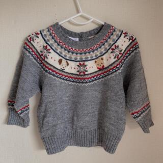 ファミリア(familiar)のかなり美品 ファミリア familiar ニット 長袖 80(ニット/セーター)