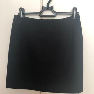 スライ(SLY)のSLY スカート 黒 (ひざ丈スカート)