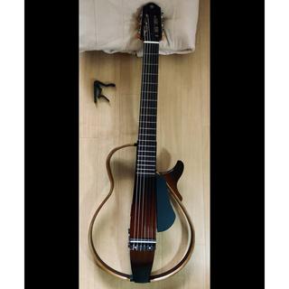 ヤマハ(ヤマハ)のサイレントギター YAMAHA SLG200N   +ギターカポタスト(アコースティックギター)